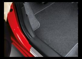 1J143ADE05 Hyundai i20 3-drs (2012 - 2015) floor mats, velour, LHD