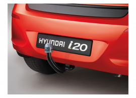 E61001J002 Hyundai i20 3-drs (2012 - 2015) tow bar, horizontal detachable