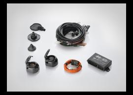 1J620ADE01C Hyundai i20 3-drs (2012 - 2015) tow bar wiring kit, 7-pole