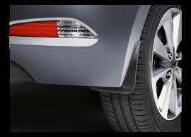C8F46AK300 Hyundai i20 3-drs (2015 - ..) mud flaps kit, rear