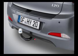 C8281ADE00 Hyundai i20 3-drs (2015 - ..) tow bar, vertical detachable