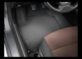 C8143ADE10 Hyundai i20 Active (2016 - .. ) floor mats, velour, RHD
