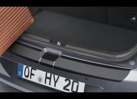 C8272ADE00BL Hyundai i20 Active (2016 - .. ) rear bumper protection foil, black