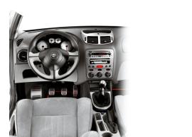 Alfa Romeo 147 stuurwiel zwart/rood 50900747