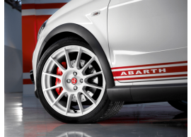 "Abarth Punto alloy wheel 17"" Esseesse white 5741874"