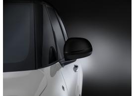 Fiat 500L spiegelkappen zwart met keramiek-effect 50926891