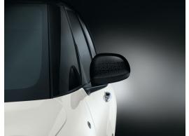 Fiat 500L spiegelkappen zwart Techno-motief 50927035