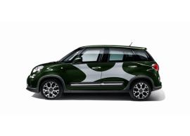 Fiat 500L stickerset 'elastiek' zilver 50927154