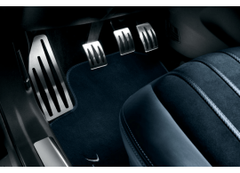 Lancia Delta 2008 - 2015 sportieve pedalenset en voetsteun in aluminium 50902292