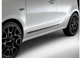Lancia Ypsilon stootsierlijsten bruin 51902425