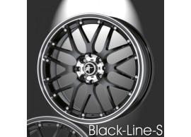 musketier-citroën-c3-lichtmetalen-velg-zwart-line-s-7x17-zwart-rand-gepolijst-zwarte-rand-C3S345014B