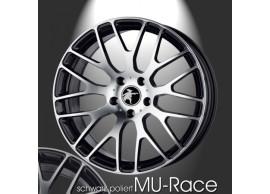 musketier-citroën-c3-lichtmetalen-velg-mu-race-7x17-zwart-gepolijst-C3S345027BP