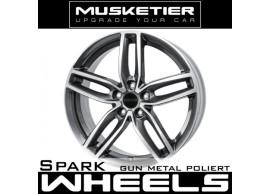musketier-citroën-c4-aircross-lichtmetalen-velg-spark-8x19-gun-metal-gepolijst-C4AC9812GMP
