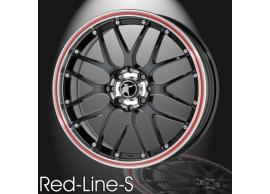 musketier-peugeot-206-lichtmetalen-velg-red-line-s-7x17-zwart-rand-gepolijst-rode-rand-20645011B