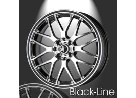 musketier-peugeot-208-lichtmetalen-velg-black-line-7x17-zwart-gepolijst-zwarte-rand-20845014BP