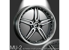 musketier-peugeot-4008-lichtmetalen-velg-mu-2-9x20-mat-zwart-met-rvs-400809014EBP