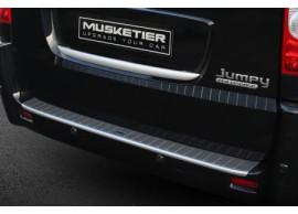 musketier-peugeot-expert-2011-2016-achterbumperbeschermstrip-aluminium-look-EXS30907AL