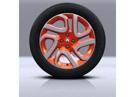 """Renault Captur lichtmetalen velg 17"""" Explore oranje diamant 403005101R"""