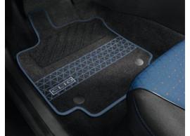 Renault Clio 2012 - .. vloermatten premium blauw (RHD) 8201321302