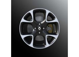 "Renault Clio 2012 - .. lichtmetalen velg 17"" sport 8201335578"