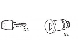 renault-captur-set-sloten-en-sleutels-voor-dakdragers-barsat-8201275095