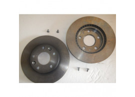 402066300R Dacia Duster 2010 - 2018 ventilated brake discs set