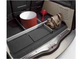 Renault Espace 2002 - 2015 kofferbakbescherming met indeling 7711419236