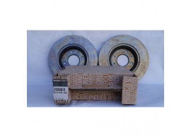 8201464598 Dacia Logan 2004 - 2013 / Sandero 2008 - 2012 ventilated brake discs set