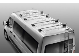 Renault Master / Opel Movano 2011 - .. bestelauto dakdragers H1 (twee stuks) 7711427804