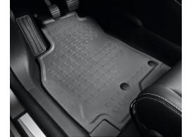Renault Megane 2008 - 2016 hatchback vloermatten rubber (RHD) 7711425457