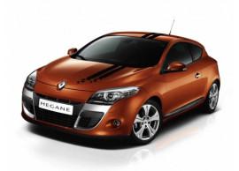 Renault Megane 2008 - 2016 hatchback stickers zwart 7711425849