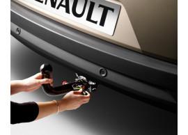 Renault Megane 2008 - 2016 coupe afneembare trekhaak 7711427710+7711427711