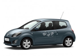 Renault Twingo 2007 - 2014 deurdecoratie tatoo wit 7711422139