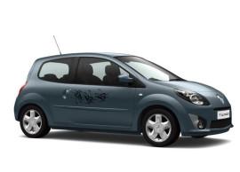 Renault Twingo 2007 - 2014 deurdecoratie tatoo zwart 7711422138