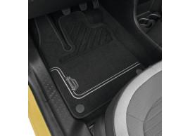Renault Twingo 2014 - .. vloermatten premium grijs 8201476011