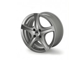 UKB4C 4x Wheel Trims Hub Caps 15 Covers fits Renault Clio Megane Twingo in Silver /& Black Alloy Look