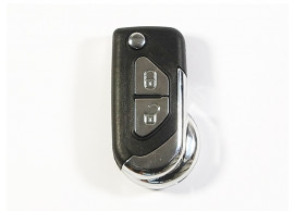citroen-folding-key-housing-with-2-buttons-with-battery-on-the-printed-circuit-board-106B