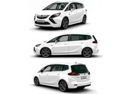 Opel Zafira Tourer OPC-line kit up to facelift (with 2 round exhaust ends) 95512892