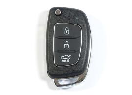 Opel klapsleutelbehuizing met twee knoppen OPE103