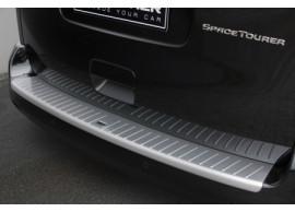 JUS40907AL Citroën Jumpy 2016 achterbumperbeschermstrip aluminium-look