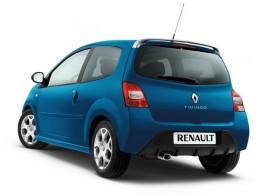 Renault Twingo 2007 - 2014 dakspoiler voor GT 7711422382