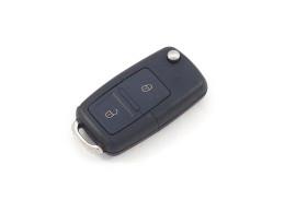 Volkswagen klapsleutelbehuizing met 2 knoppen