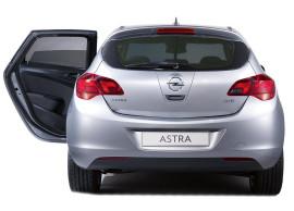 Opel Astra J zonnescherm achterdeuren 95513917